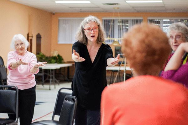 Atelier de danse créative et mouvements