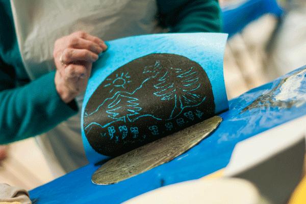 Atelier d'exploration de la gravure